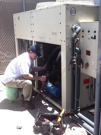 Commercial Chiller repair in Orange county